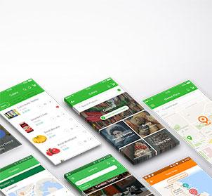 Mobile Application Service Image